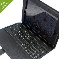 China Portfolio Ipad 2 Leather Bluetooth Keyboard Case usb for  BlackBerry , synaptic touch pad on sale