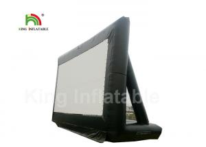 China CE Custom Black PVC 10m Inflatable Projector Screen, Inflatable Outdoor Movie Screen on sale