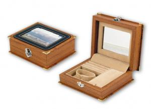 China Customized Wooden Color And Size Wood Jewellery Box Pandora Jewelry Box With OEM on sale