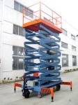 Electrical Hydraulic Mobile Scissor Lift for Work Shop , Theatre , Hospital