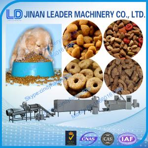 China Pet Fish  Animal Food Processing Machine fish food extruder production line on sale