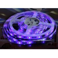 Musical 18W LED Flexible Strip Lights Indoor 5050 3M 12V DC With Self Adhesive Tape