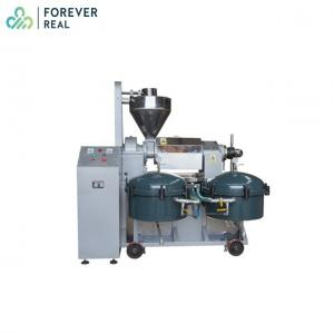 China High Purity Screw Oil Press Machine , Palm Oil Making Machine Compact Structure on sale