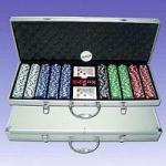 Microplaquetas de pôquer ajustadas (P500L)