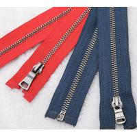 China Antique Silver Teeth Metal Zipper for wholesale on sale