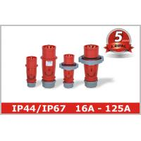 Single Phase Inverter Industrial Power Plug Sockets 380V 415V 3P+E 3P+N+E