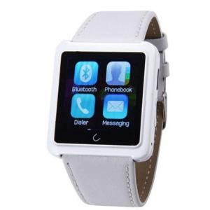 China 2015 hot Waterproof Anti-lost Bluetooth Smart Dial Bracelet Watch Android Watch For Smartphones on sale