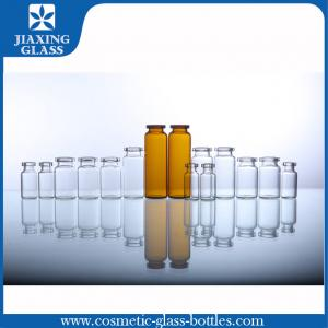 China 50ml Pharmaceutical Medicine Use Empty Tubular Glass Vials For Injection on sale