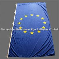 Rectangle Advertising Teardrop Flags Eco - Friendly Washable AZO Free