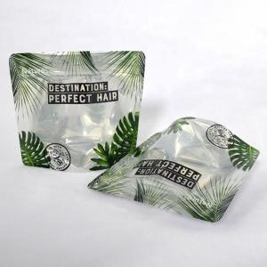 China Biodegradable PLA plastic bags 4 oz ziplock stand up pouch metallic foil bag with window doypacks on sale