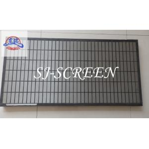 China Size 1165*585*40mm Mongoose Shaker Screens For Drilling Mud Solids Control Equipment on sale