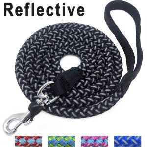 China 6 Foot Nylon Rope Dog Leash , Reflective Dog Leash For Large / Medium Dogs on sale