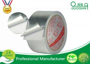 China Reinforced Aluminum Foil Tape 3.3mils Single Side Aluminum Tape Heat Resistance on sale
