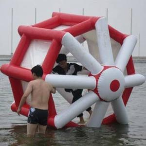 China 0.9mm PVC Tarpaulin Interesting Inflatable Water Sports For Play on sale
