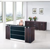 Purple Oak Reception Counter Desk In Office Furniture Size 2200Wx800Dx1000H(Mm)