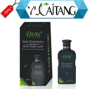 China Black plastic bottle natural anti-hair loss shampoo 200ml on sale