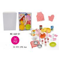 36 Pcs Stainless Steel Kitchen Set Children