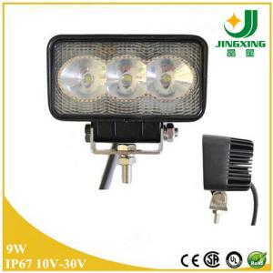 China Jeep Atv 4x4 trailer volvo offroad spot/flood lamp, 9w led work lights for truck on sale