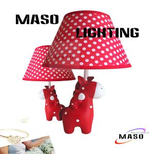 China MASO Cartoon Animal Table Light Resin Material Deer Lamp E14 Base LED replacable MS-T3011 on sale