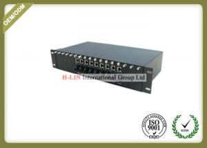 China Single Mode Ethernet Fiber Optic Media Converter , Single Fiber Media Converter on sale