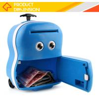 China New arrival safe storage mini atm saving plastic kids money box on sale