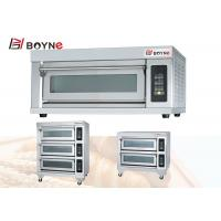 China Pizza Oven Bakery One Deck Three Trays Electric Oven For Commercial Kitchen Hotel on sale