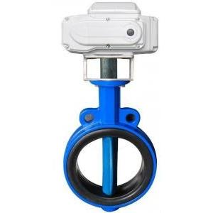 China EPDM lined Electric Actuator Butterfly Valve For Drink Water , 2 ~ 120 Size on sale