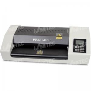 China 1.5m / anchura que lamina mínima PDA3-330SL de la máquina 330m m de la laminación de la bolsa del metal de la oficina on sale