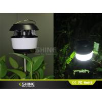 White or Black Solar Lawn Decorative Solar Mosquito killer Garden Light Polysilicon 0.55w with ABS