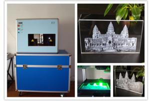 China 2D / 3D Computerized Engraving Machine Portrait Crystal Inner 3D Laser Engraving on sale