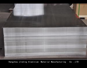 China Inner Plastic Paper Interleaving Presicion Aluminum Plate Width 100mm-1500mm on sale
