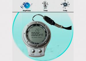 China IP4 Waterproof Outdoor Digital Compass with Carabiner Key Chain SR104 , GPS,  Altimeter on sale