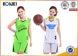 China Logo / Number Printing Custom Basketball Uniforms Custom Athletic Apparel on sale