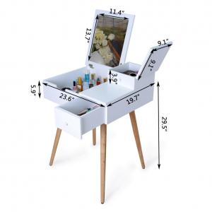 China NC Painting MDF Makeup Dressing Tables on sale