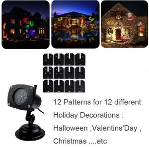 China IP65 Waterproof Led Christmas Lights Laser Star Projector Lamp For Holiday Garden Lawn House Decorations on sale