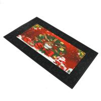 Musical Door Mat Christmas Design Outdoor Mat Rubber backing Anti-Slip Mat