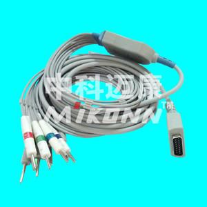 China GE Marquette din 10 Leads EKG Cable on sale