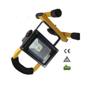 China 2015 best seller 10w rechargeable led flood light with solar panel on sale