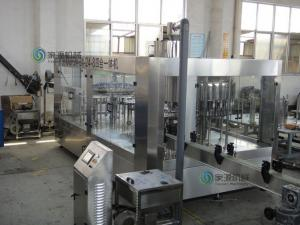 China 4 in 1 Full Automatic Bottle Filling Machine 4000BPH For PET Bottle on sale
