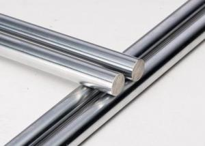China 1045 / 45C Hard Chrome Plated Steel Rod  Chrome Round Bar 800 - 1200 HV Surface Hardness on sale