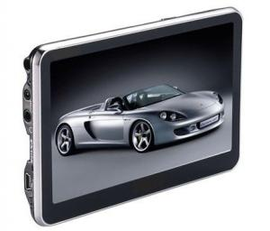 China 5 Inch 800x480 1575.42MHZ 16GB Widescreen Portable GPS Navigator With SD Memory Slot on sale