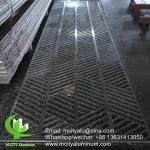 fashion style aluminium privacy screen metal screen sheet 10mm thickness for partition decoration