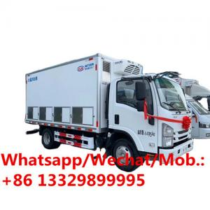China China supplier of day chick transproted box truck for sale, new cheaper customized baby chick refrigerated van truck on sale