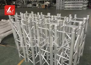 China Aluminum Square Exhibition Spigot Lighting Truss Safety Heavy Loading 290mm on sale