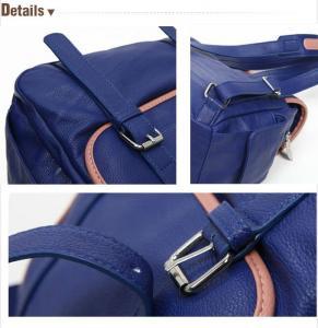 China 7042R Vintage Tan Leather Men's Backpack Satchel bag on sale