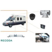 "1/3"" Sony CCD 360 Degree Rotation Armed Escort Vehicle Security Camera System"