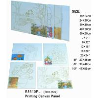 China 3mm Thick Print Stretched Canvas Art Painting Canvas Panel OEM Service Avaliable on sale