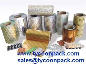China Printed and Laminated Pharmaceutical Flexible Packaging Aluminium Foil on sale