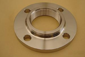China 316L ASME Threaded Stainless Steel Flange , Seamless on sale