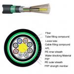Armored Fiber Optic Cable GYFTY53 Stranded Loose Tube Non Metallic Strength Member